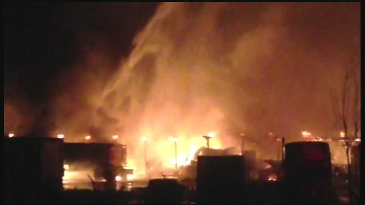 Investigators search for cause of Concord fire