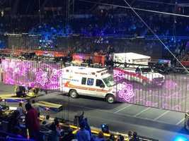Providence Public Safety Commissioner Steven Pare says the injuries sustained in Sunday's accident at the Ringling Brothers and Barnum and Bailey Circus were not life-threatening.