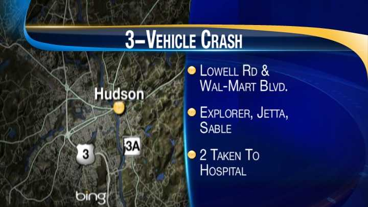 map - Hudson crash