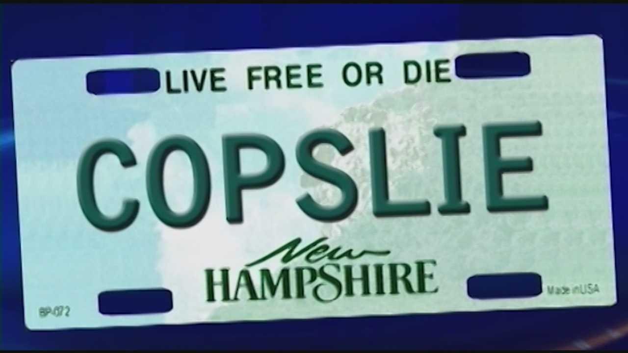 Court: Denial of 'COPSLIE' plate violates free speech