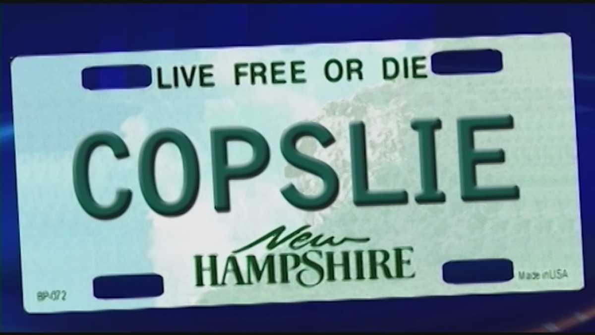 New rules put nh vanity plates on hold for Department of motor vehicles concord new hampshire