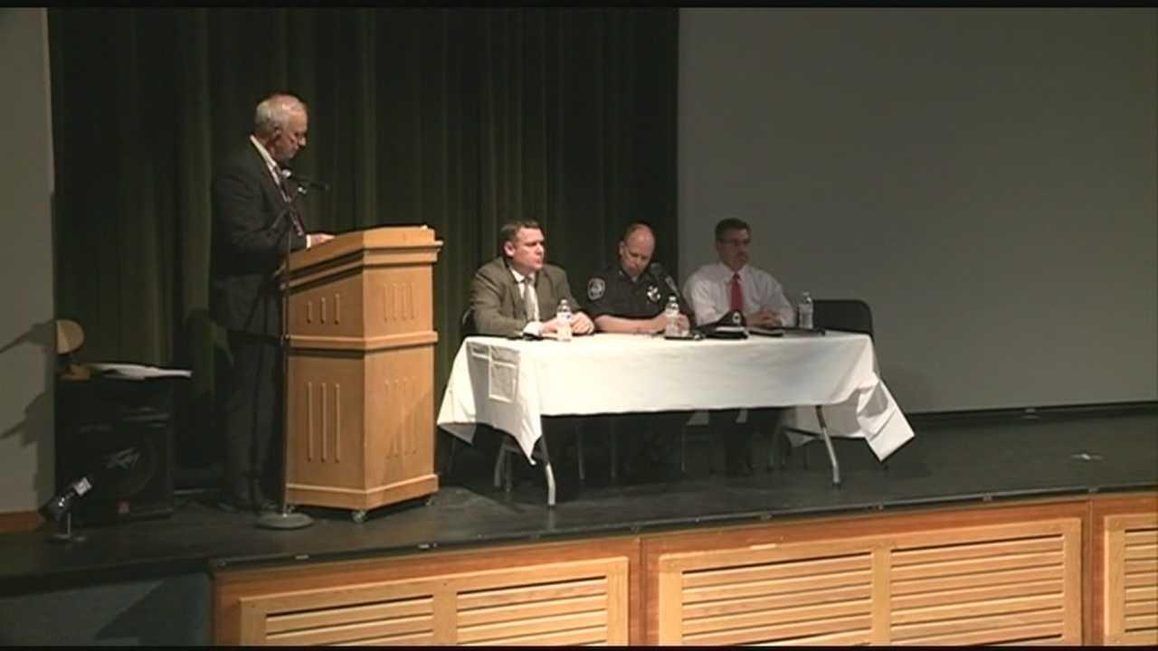 Stratham Middle School officials discuss recent gun incident