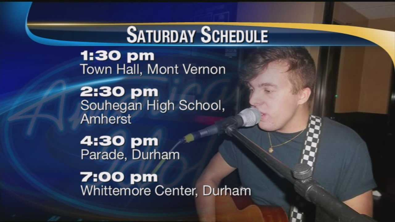 American Idol's Alex Preston to return to NH this weekend