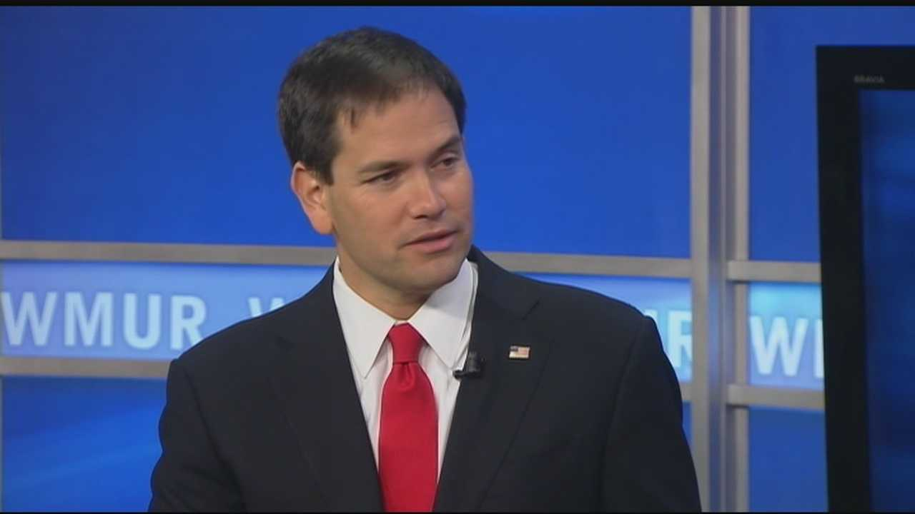 Marco Rubio visits New Hampshire