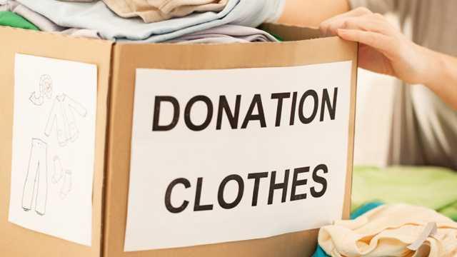 Donation box, donations, charity