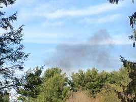 By 4:47 p.m., fire was seen coming from the house. Seacoast Emergency Response and a SWAT team went near the home and were able to get Walter Nolan out of the front yard. He was treated for minor injuries and released into the care of family.