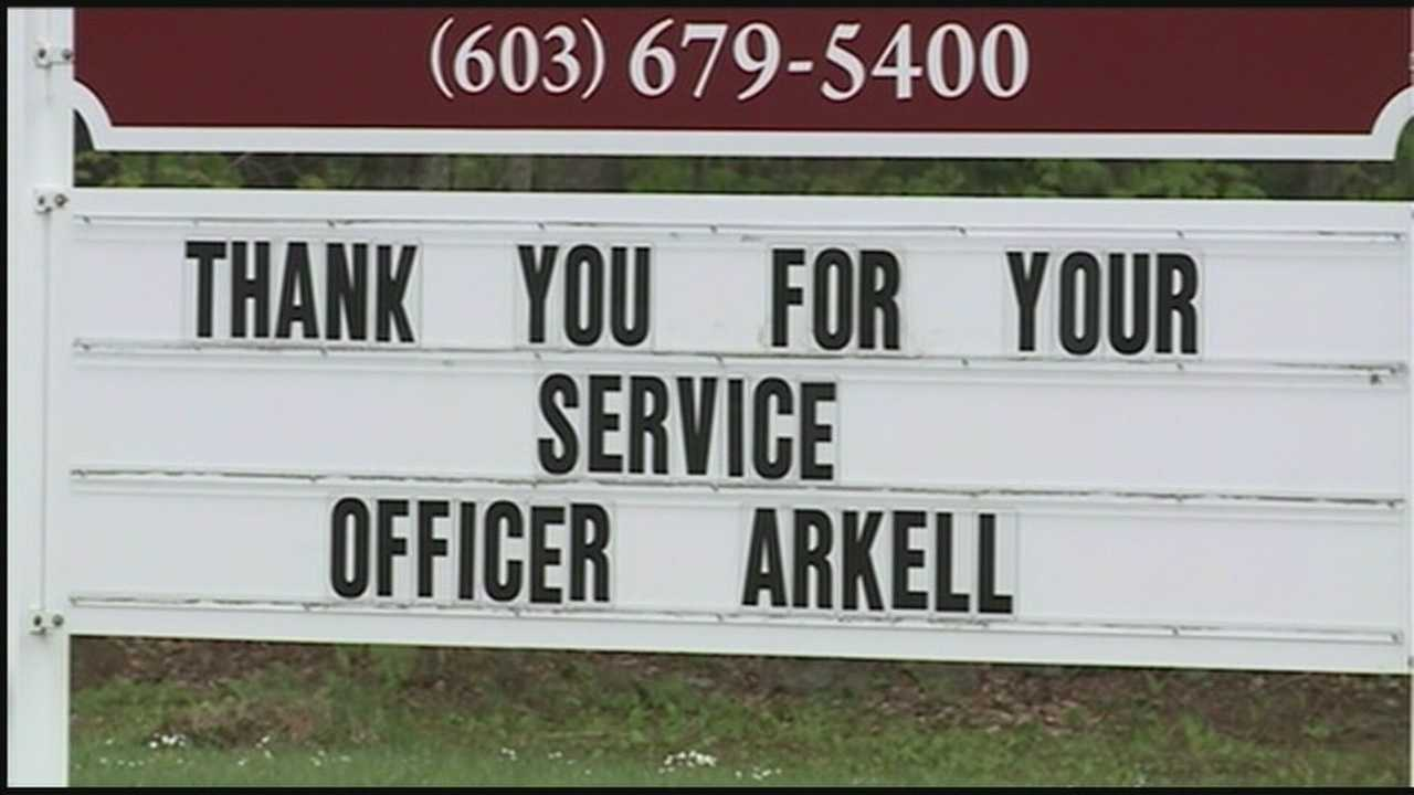 Community remembers fallen officer