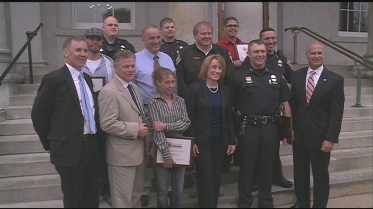 13 honored for heroism
