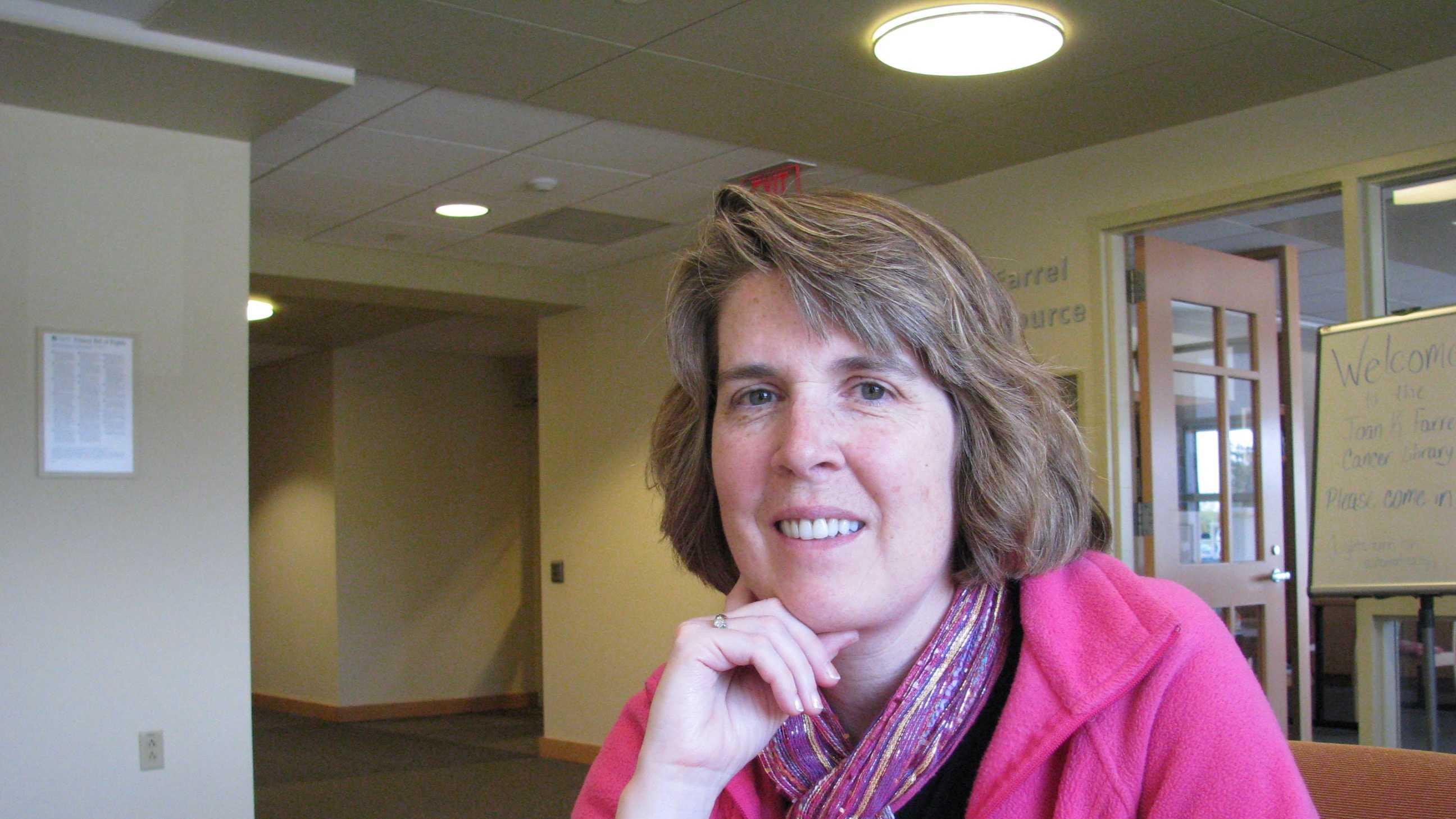 Stephanie Murdoch Riley at Concord Hospital's Payson Center for Cancer Care.