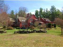 The home was built in 1993 and it sits on 23.25 acres of land.