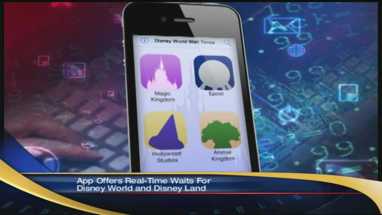 Disney World Wait Times collects data from other users to calculate real-time wait times for the park's popular rides and attractions.