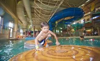 Great Wolf Lodge, a long-awaited forest-themed family resort, is opening its first location in New England