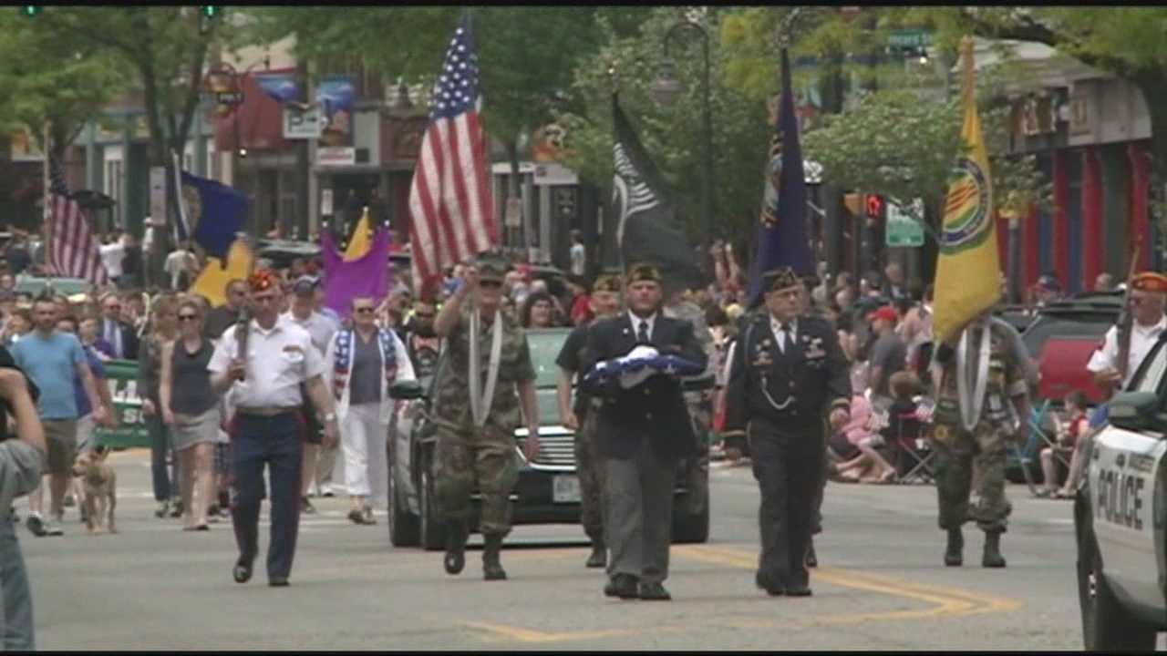 Several towns host events to honor fallen service members.