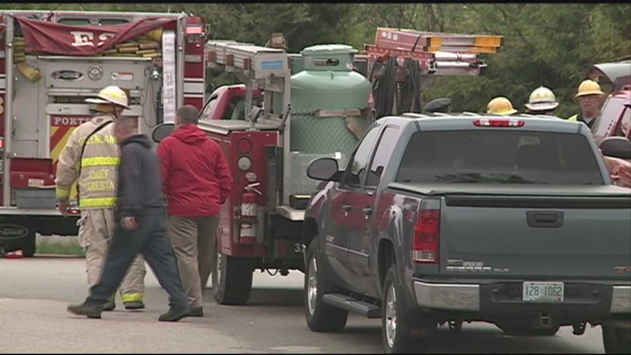 Propane leak on seacoast
