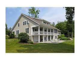 The home is3,947 square feet, and sits on a 75.6 acre property.