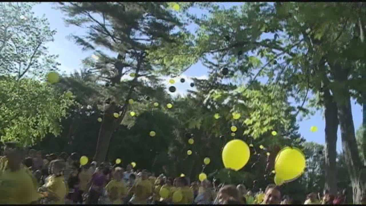 A couple remembered their son on what would have been his first birthday.