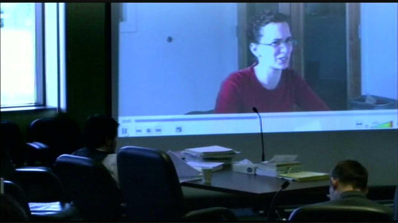 Jurors watch video of McDonough