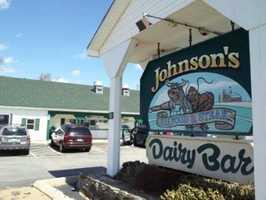 10 tie. Johnson's Seafood & Steak in Northwood & New Durham