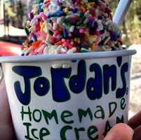 1. Jordan's Ice Creamery in Belmont