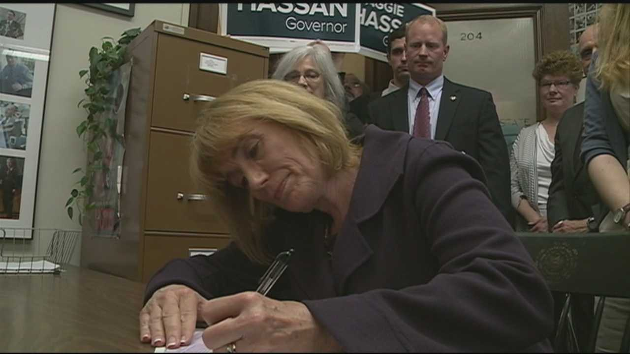 Hassan files paperwork for re-election bid