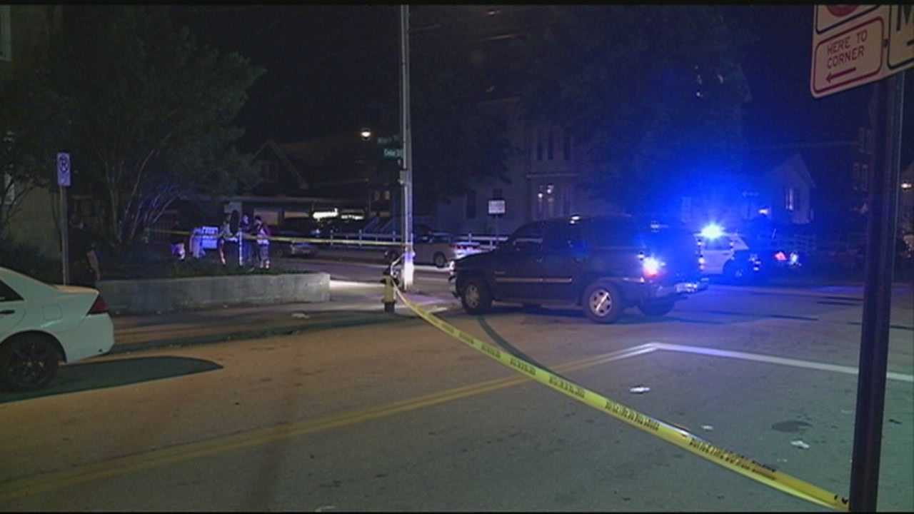 Shot fired at teen in Manchester