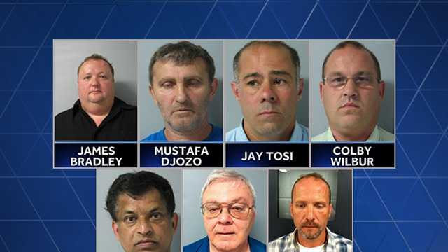 7 arrested in undercover prostitution sting