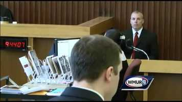 On June 17, Officer Scott Petrin of the Dover Police Department said he inspected Lizzi's car, taking an inventory of what was inside and reviewing her GPS activity.