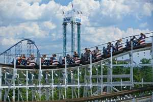 The Cyclone opened at Six Flags New England on June 24, 1983