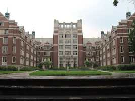 #25 Wellesley College (Massachusetts). Tuition and fees totaled $42,082 for the 2012-13 school year, according the the U.S. Department of Education.