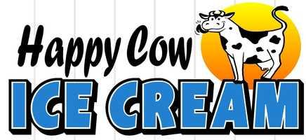 8 tie. Happy Cow Ice Cream in Laconia