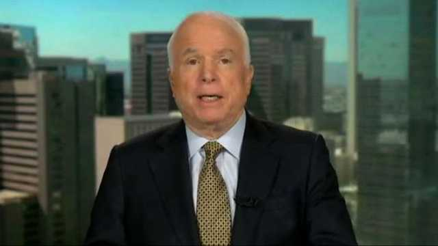 John McCain on border
