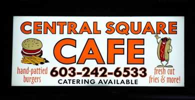 21 tie. Central Square Cafe in Troy