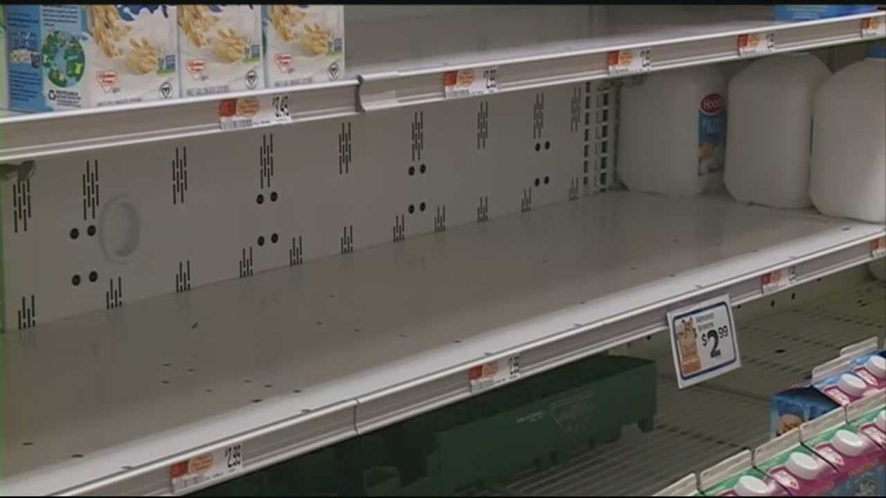 Shelves bare at Market Basket stores