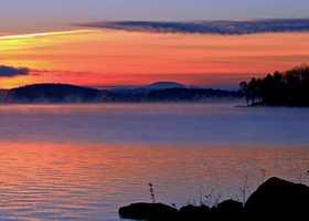 8 tie. Lake Winnipesaukee (general)
