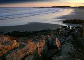 6 tie. Wallis Sands State Beach