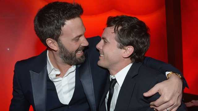 Ben and Casey Affleck, file photo