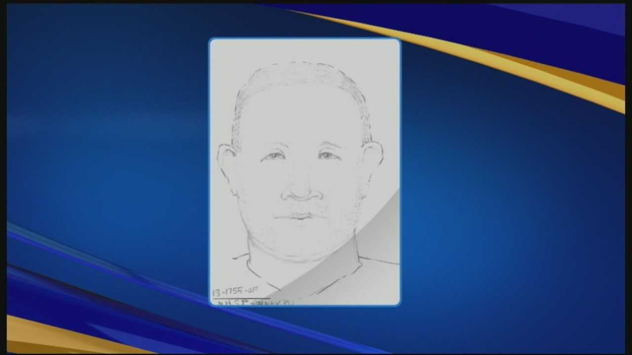 Officials have released a sketch of a man they say drove a teenager away from Conway in October, prompting a massive search before she returned home this weekend.