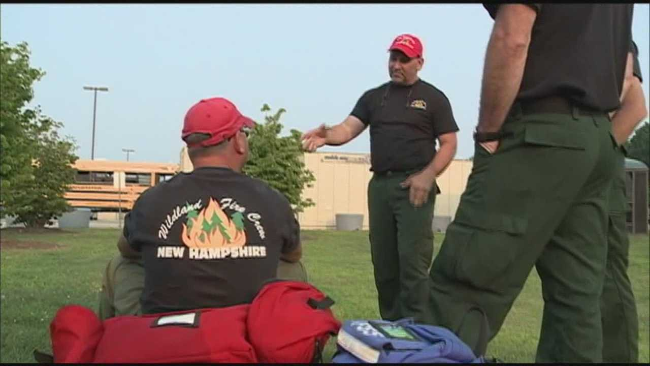 New England Wildland Firefighters Heading to Pacific Northwest
