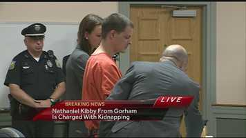 No plea was entered on the class B felony. If convicted, Kibby could face a sentence of up to seven years in prison and a fine of up to $4,000.