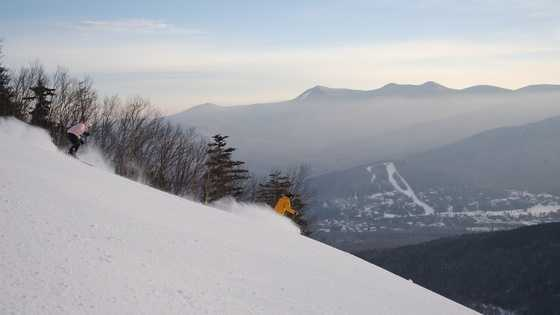 Waterville Valley skiing