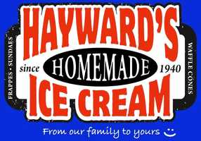 2. Hayward's Ice Cream in Nashua and Milford