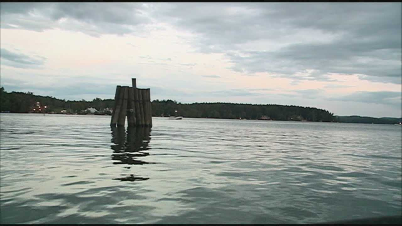 A man is planning to swim from Center Harbor to Wolfeboro on Friday to raise money for Granite State Adaptive. WMUR's Adam Sexton reports.