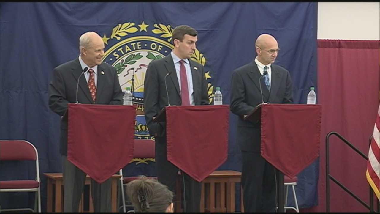 Republican Candidates For Governor Debate