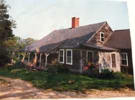 This is what the farmhouse looked like when the Hager's bought it in 1990.