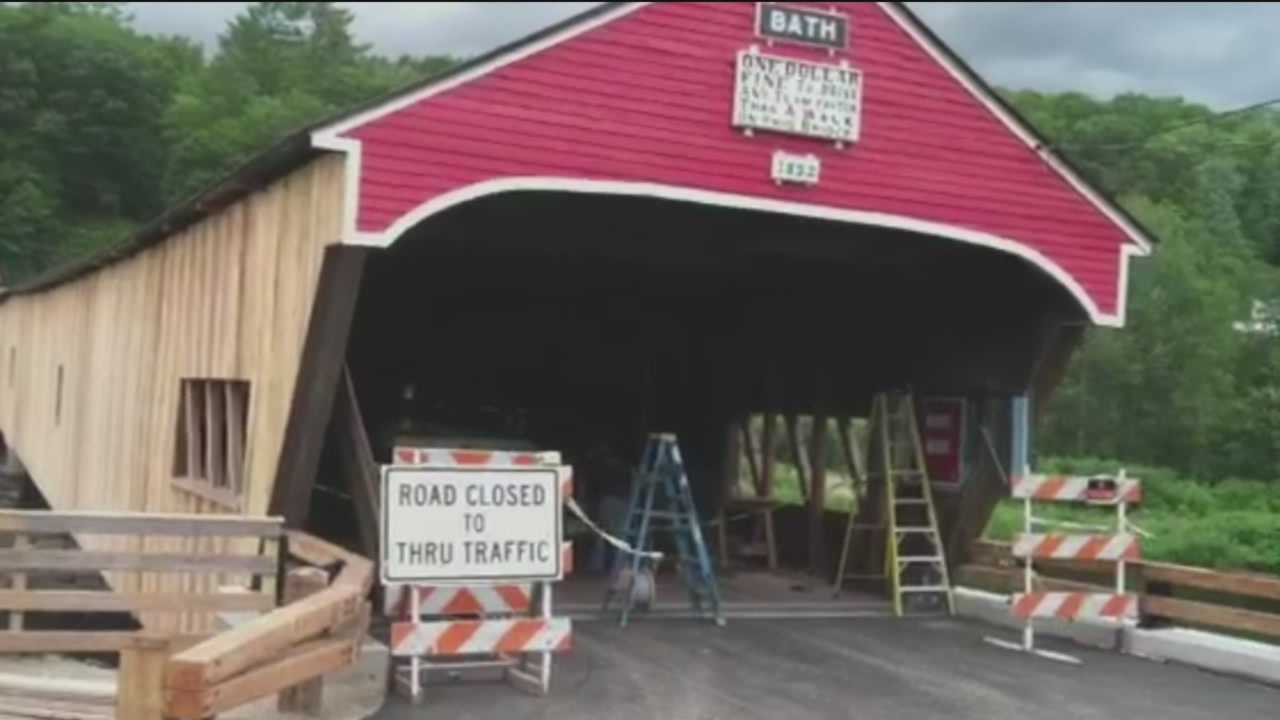 This week on Escape Outside, a covered bridge in Bath is about to re-open after an extensive restoration project.