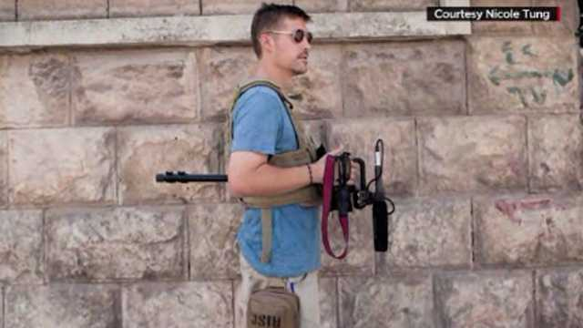 James Foley with camera