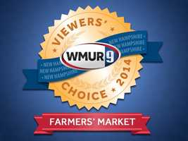 It's that time of year again! We asked our viewers for their choice of favorite farmers' market in New Hampshire.