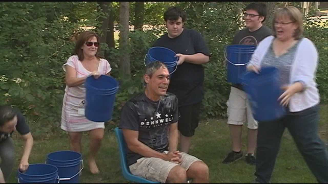 Group takes part in Ice Bucket Challenge