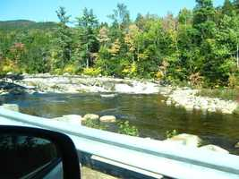 Hop in the car and take in the sights of the Kancamagus Highway