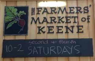 Tie-8) The Farmers' Market of Keene